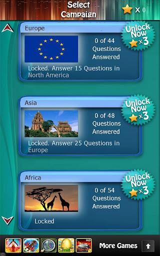 World Capitals Quiz HD