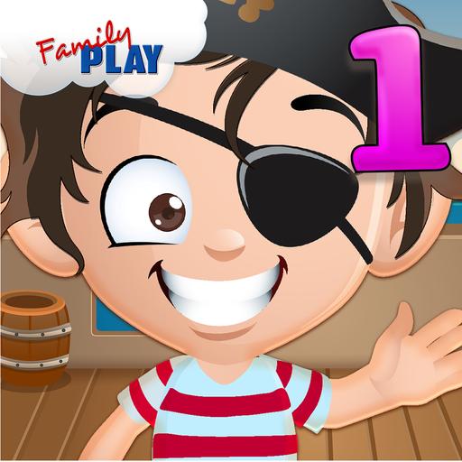 海盗一年级趣味运动会 教育 App LOGO-APP試玩