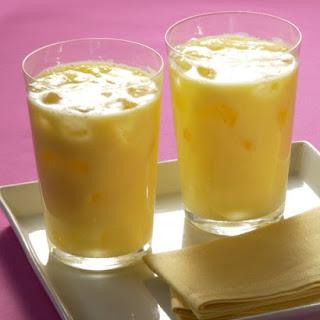 Mango-Yogurt Drink.