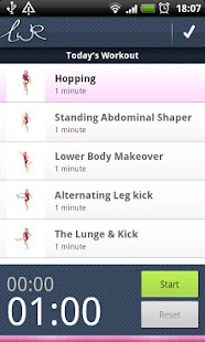 LWR Personal Trainer Lite - screenshot thumbnail