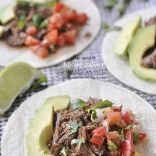 Slow Cooker Chipotle Copycat Barbacoa Beef.