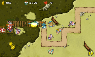 Screenshot of Swamp Defense Lite