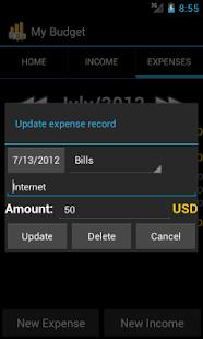 My Budget Free- screenshot thumbnail
