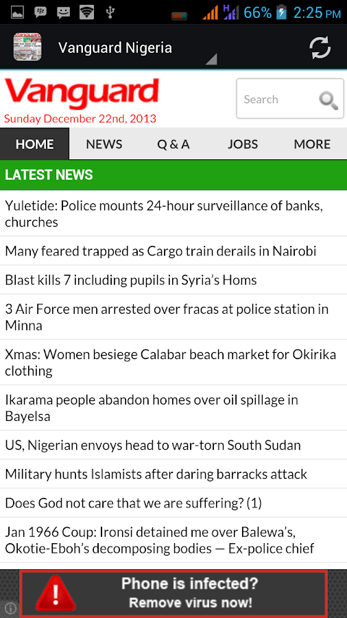 Vanguard Nigeria (Unofficial) - screenshot