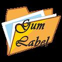 Gum Label Storage