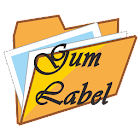Gum Label Storage icon