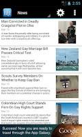Screenshot of EDGE Gay/Lesbian News