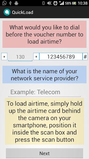 QuickLoad Airtime Loader