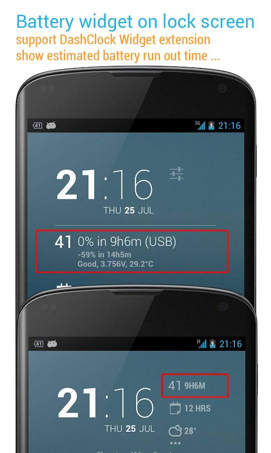 2x Battery Pro - Battery Saver - screenshot