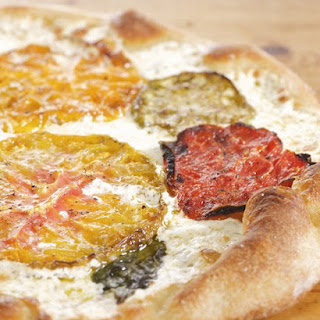 Oven-Dried Heirloom Tomatoes