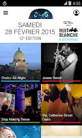 2015 Nuit blanche à Montréal Screenshot 2