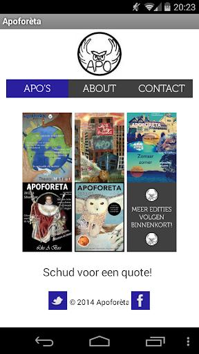 Apoforeta - Apo app