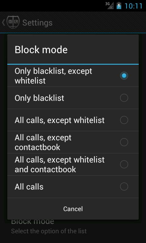 Call Blocker PRO- screenshot