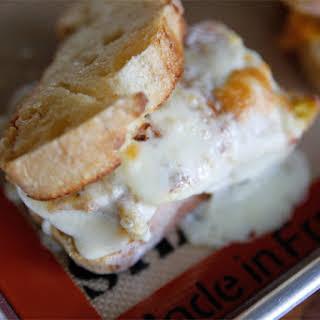 Quick & Easy Cheesy Breakfast Sandwich.