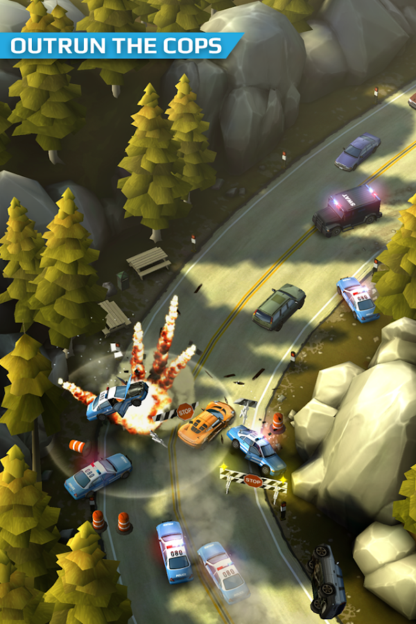 Smash Bandits Racing v1.09.07 MONEY MOD APK + DATA for Android