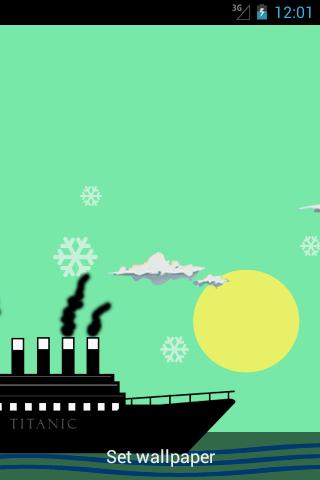 Titanic Live Wallpaper