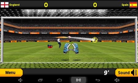 Goalkeeper Premier Soccer Game 1.08 screenshot 644331