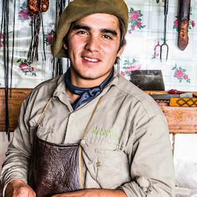 Patagonia Argentina.Hacienda Nuael Huapi. by Javier De La Torre - People Professional People