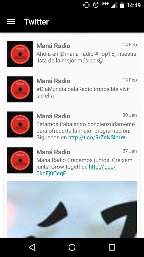 Maná Radio- screenshot