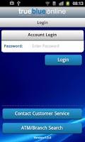 Screenshot of CapFed® Mobile Banking