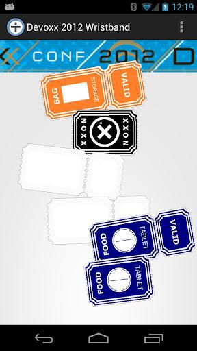 Devoxx 2012 Wristband