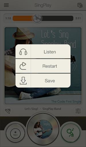 SingPlay: Karaoke your MP3s 2.3.4 screenshots 4