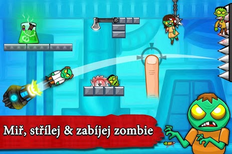 Zombie hadráci - Střílečka - náhled
