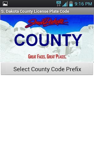 South Dakota County Code Tool