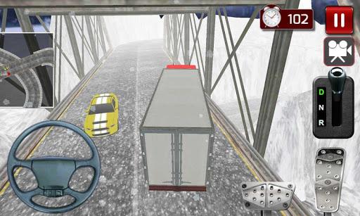 冬季公路卡車3D