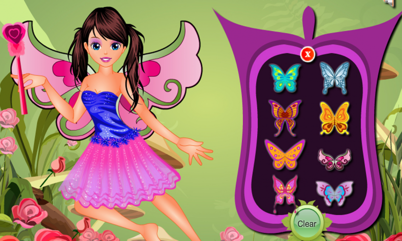 Tooth Fairy Dressup  Girl Game- screenshot