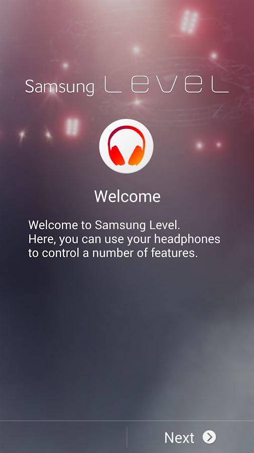 Samsung Level - screenshot
