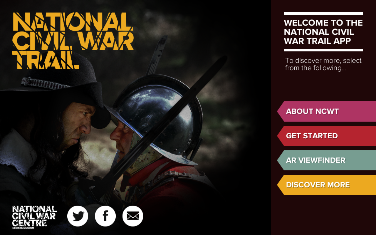 NCWT: National Civil War Trail- screenshot