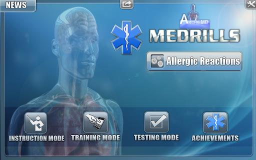 Medrills: Allergic Reactions