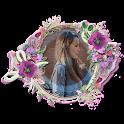 Flower Photo Frames for Girls icon