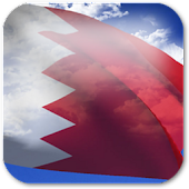 3D Bahrain Flag