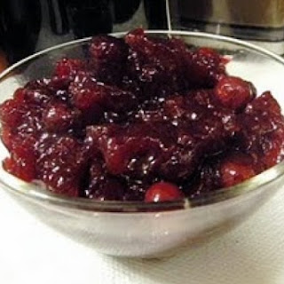 Savory Dried Cranberry Sauce