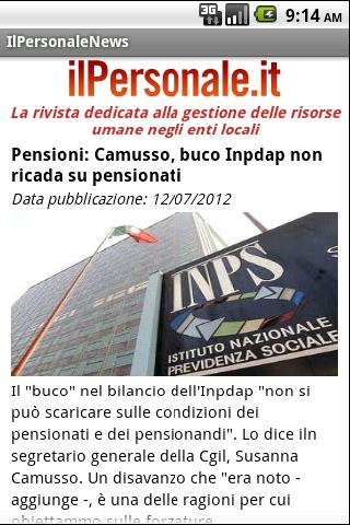 IlPersonale News- screenshot