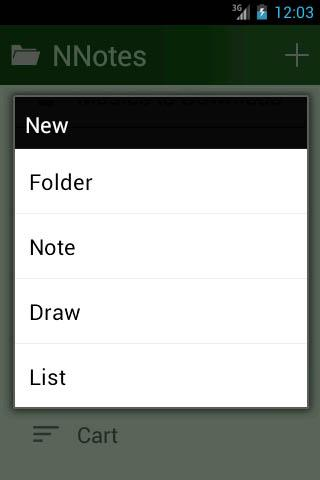 NNotes- screenshot