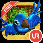 UR 3D Cute Jungle Birds HD icon