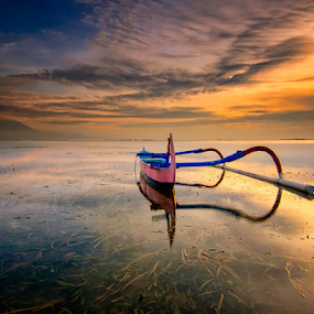 Sanur Beauty by Hendri Suhandi - Landscapes Travel ( bali, sanur, sunrise, beach, travel )