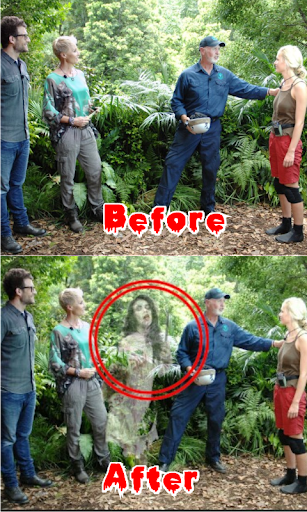 FZ Ghost Scary in Photo-Prank
