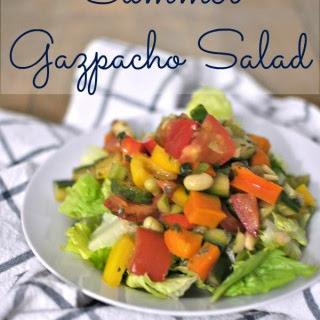 Summer Gazpacho Salad