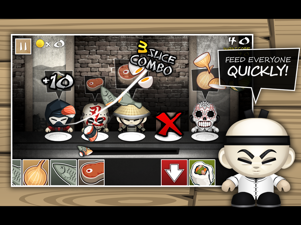 The Hibachi Ninja - screenshot