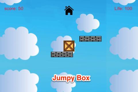 JUMPY箱:多雲的天空自由飛翔