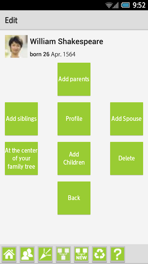 My Roots (Make a family tree)- screenshot