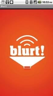 Blurt!- screenshot thumbnail