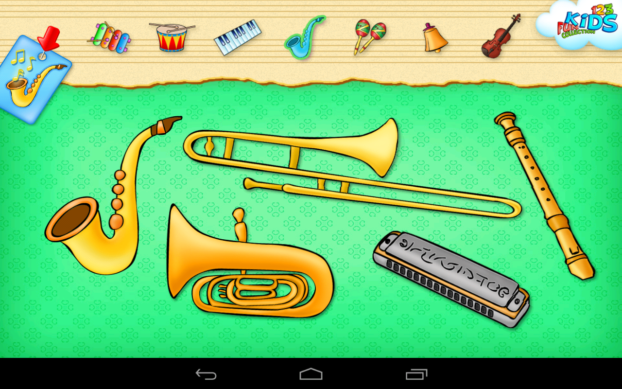123 Kids Fun MUSIC FULL - screenshot