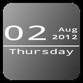Mono Date Widget