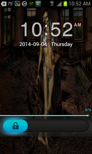 3D Hag Woman Go Locker Theme