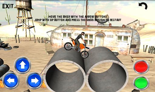 3D特技自行車模擬器遊戲